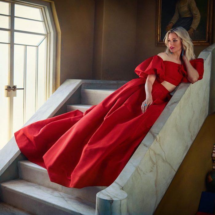 Famosos en los Oscar 2019 fotografiados por Vanity Fair, Elizabeth Banks
