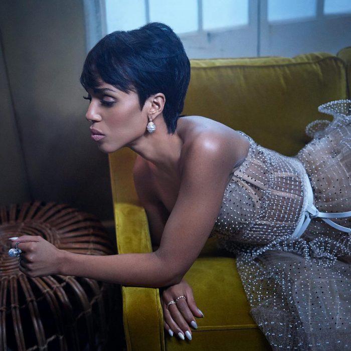 Famosos en los Oscar 2019 fotografiados por Vanity Fair, Kerry Washington