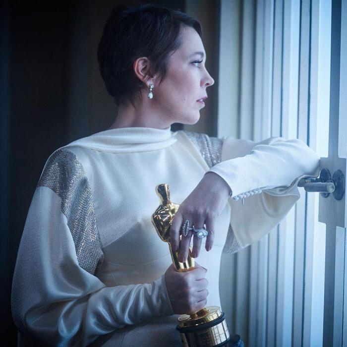 Famosos en los Oscar 2019 fotografiados por Vanity Fair, Olivia Colman