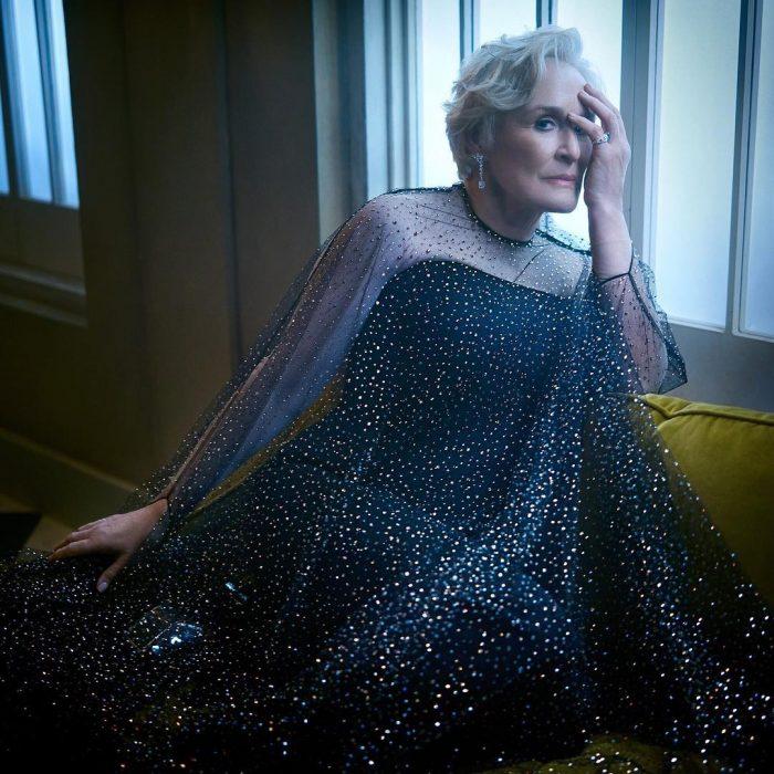 Famosos en los Oscar 2019 fotografiados por Vanity Fair, Glenn Close