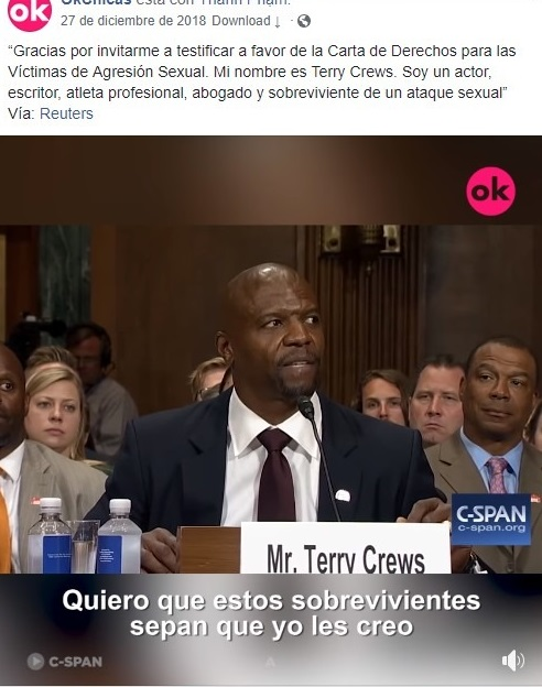 hombre dando un discurso