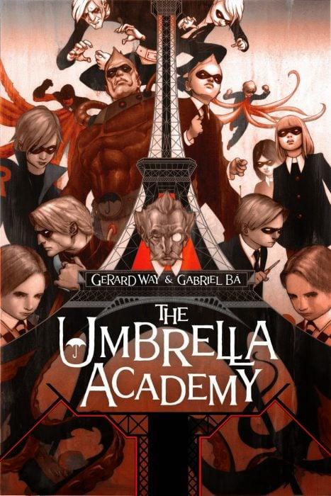 Portada del cómica The Umbrella Academy