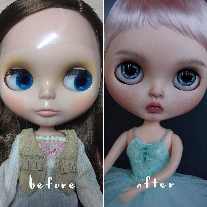 muñeca con ojos grandes
