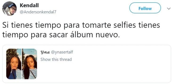 Twitter encuentra a la doble de Rihanna y le piden que saque un nuevo álbum