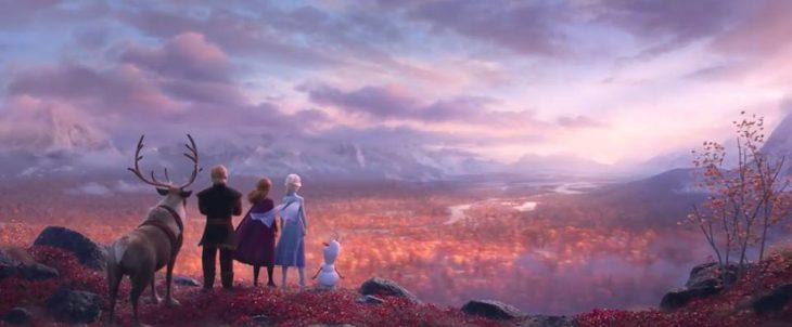 Escena de la película Frozen 2