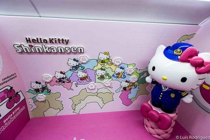 gatita gigante de Hello Kitty