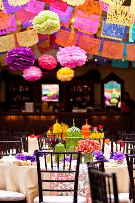 Fiesta de XV años con temática mexicana