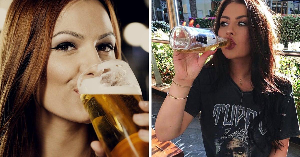 Las mujeres que beben cerveza son las más fieles