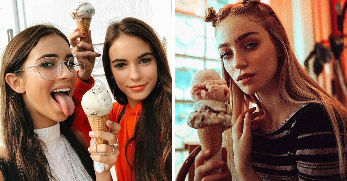 En Turquía recomiendan a las mujeres no comer helado en público