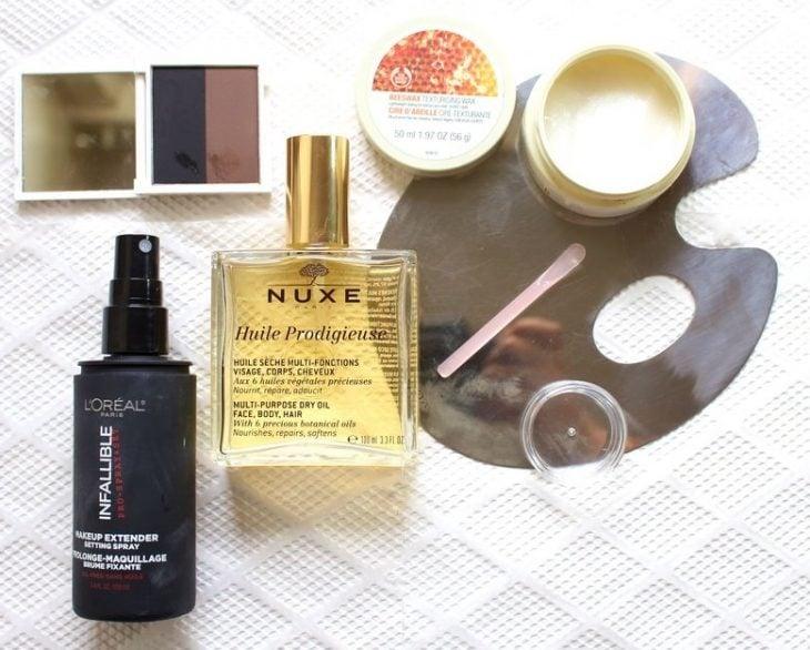 base de maquillaje para hacer pomada para cejas