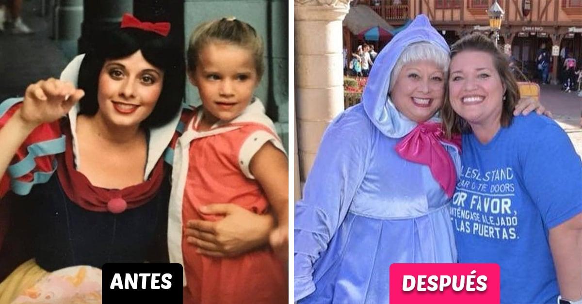 Este reencuentro con Blancanieves 20 años después es digno de una película Disney