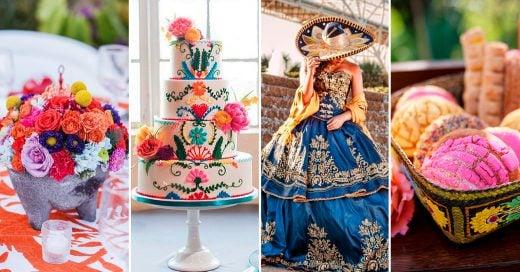 19 Ideas creativas para hacer de tus XV años una celebración de temática mexicana