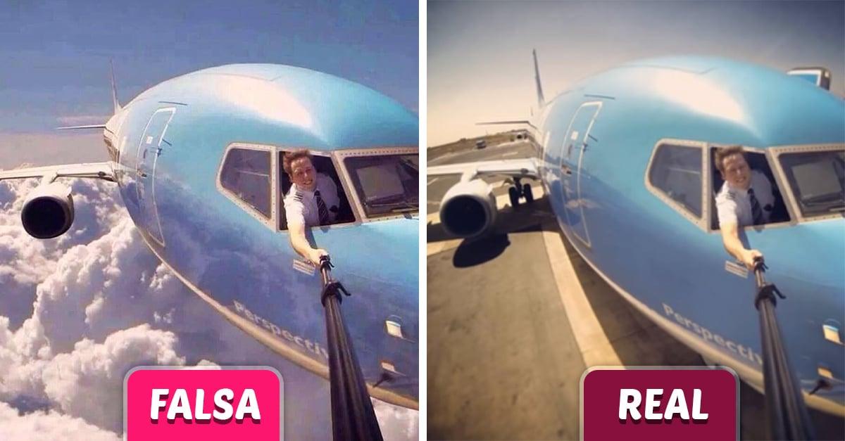 15 Fotografías falsas que se volvieron virales y lograron engañar a Internet