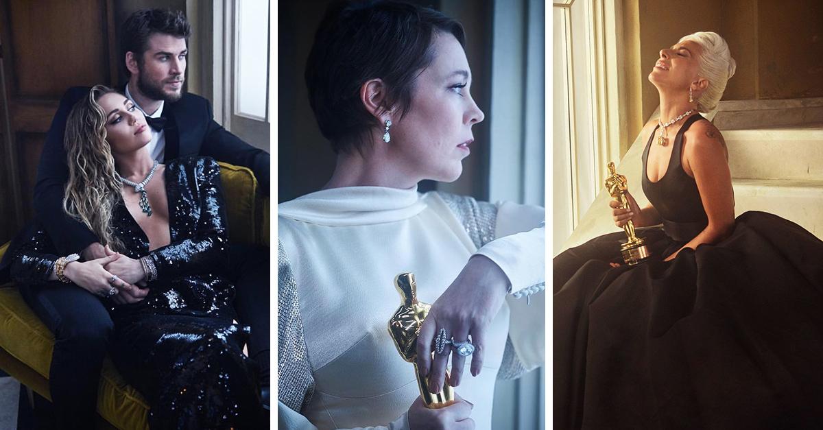 Vanity Fair retrató a los invitados de los premios Óscar y las fotos son increíbles