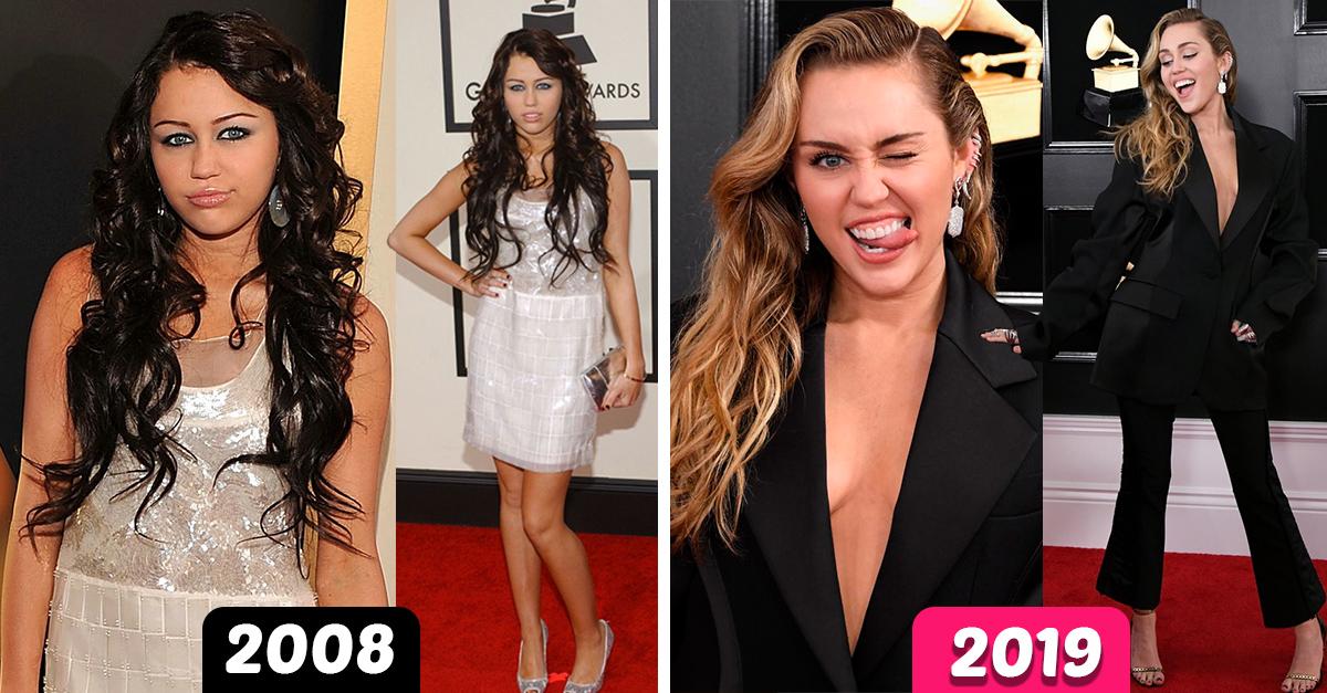 12 Celebridades que cambiaron drásticamente desde sus primero Grammys