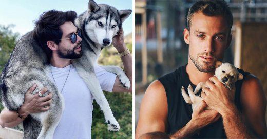 18 Hombres bien parecidos y sus tiernos perritos se ganarán tu corazón