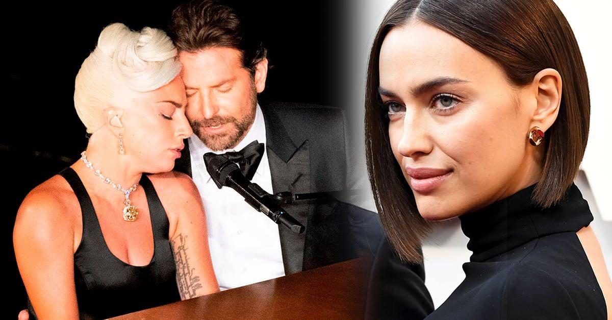 Listo: Irina Shayk deja de seguir a Lady Gaga en redes tras su actuación con Bradley Cooper en los Oscar