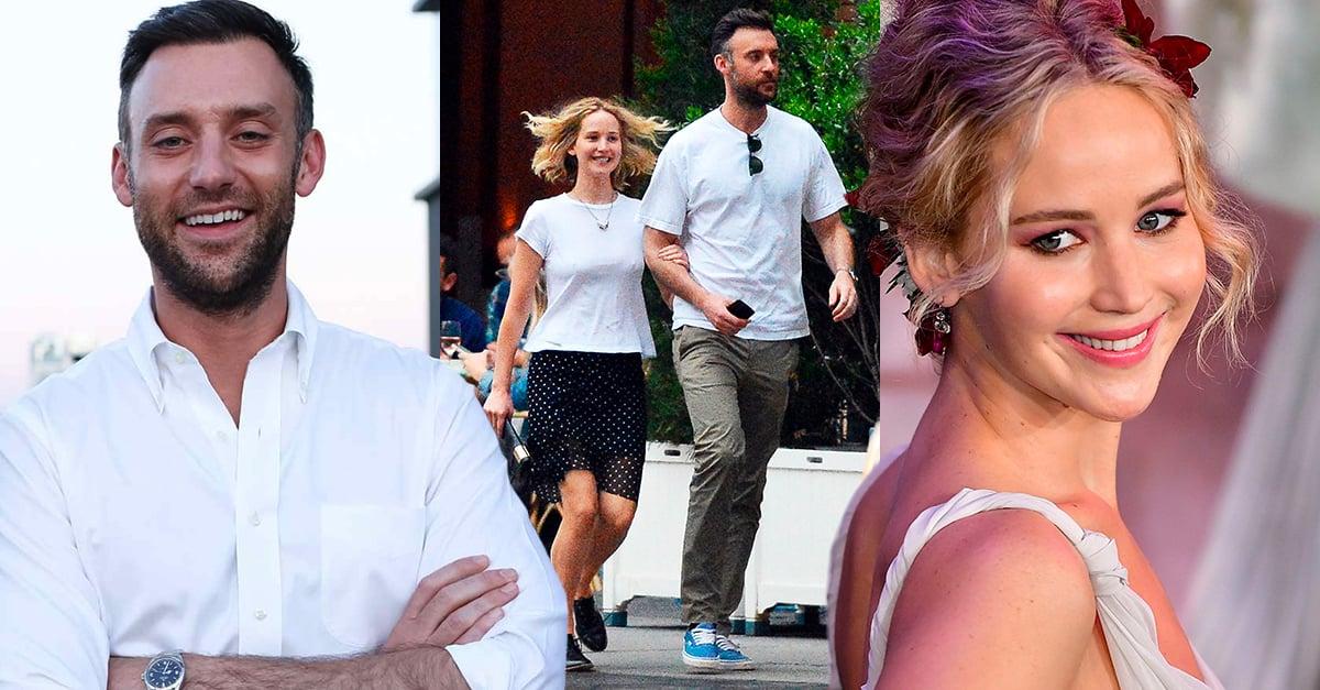 Paren todo: ¡Jennifer Lawrence confirmó su compromiso con Cooke Maroney!