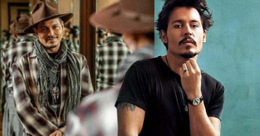 Johnny Depp reaparece con un estilo más atractivo y rockero