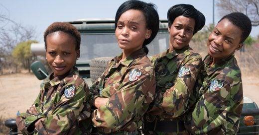 Las Akshinga son un escuadrón dedicado a combatir la cacería