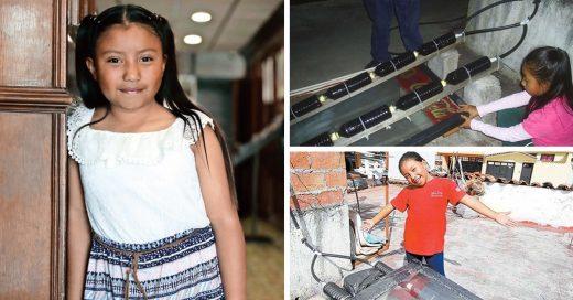 Niña mexicana gana premio de ciencia nuclear por su invento