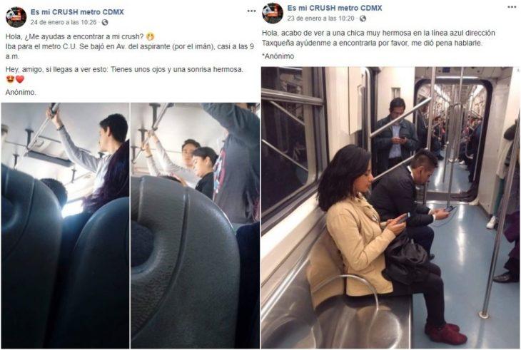 personas sentadas en metro