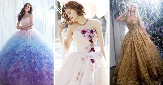 13 Vestidos que te harán sentir como la protagonista de un cuento de hadas