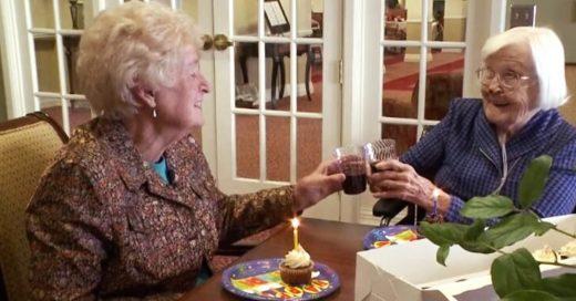 Se conocieron hace 84 años y el tiempo ha demostrado que son amigas inseparables