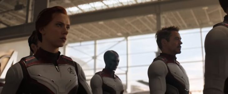 Escenas de Avengers Endgame