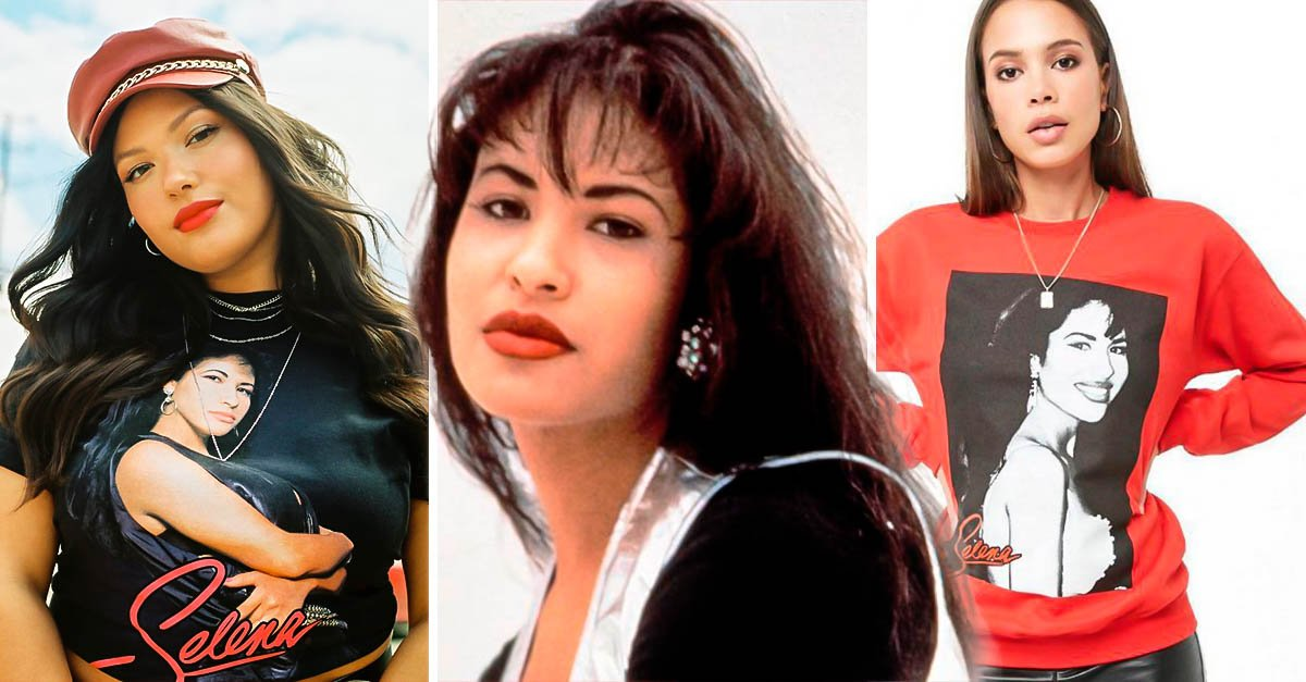 Portada Forever 21 Selena Quintanilla