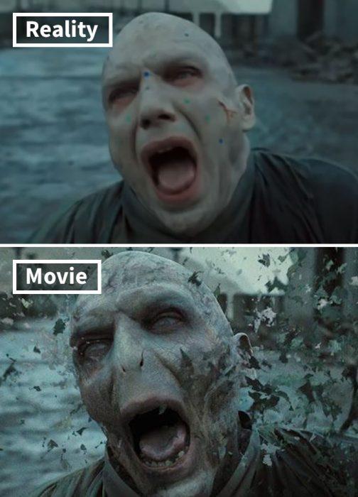 Escena de Harry Potter y las reliquias de la muerte, parte 2