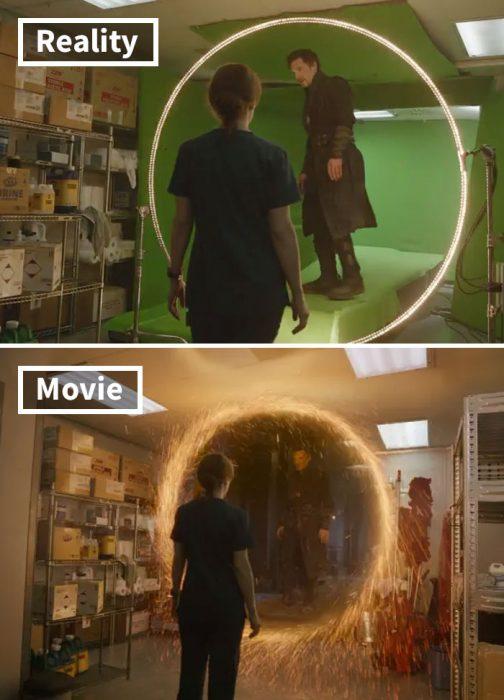Escena de Doctor Strange