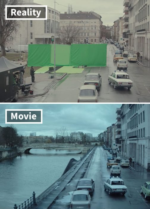 Escena de la película Atomic Blonde