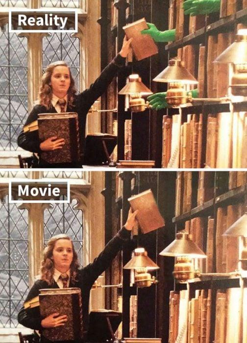 Escena de la película Harry Potter y el misterio del príncipe mestizo