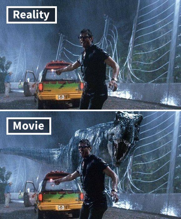 Escena de Jurassic Park