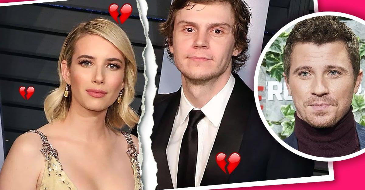 Emma Roberts se separa de Evan Peters por Garret Hedlund