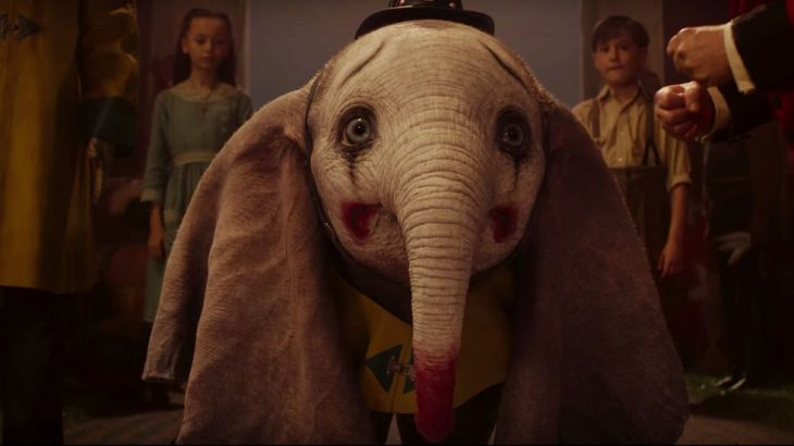 Escena de la película de Dumbo