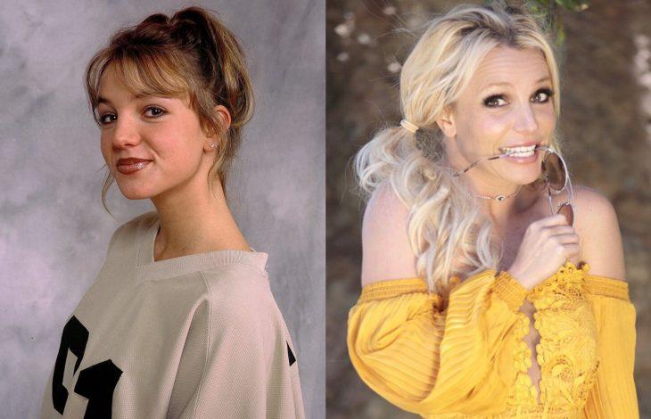 Famosas antes y después, Britney Spears