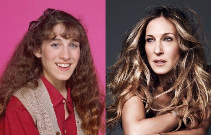 Famosas antes y después, Sarah Jessica Parker