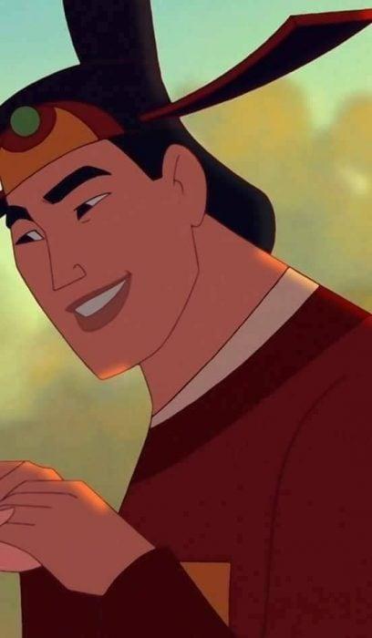 Fondo de pantalla para el celular del personaje de Shang de la cinta Mulan