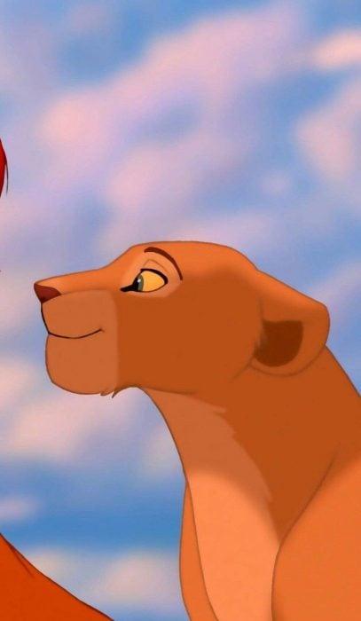 Fondo de pantalla para celular del personaje de Nala del Rey León