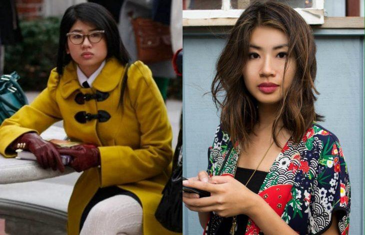 Elenco de Gossip Girl antes y después, Nelly Yuki