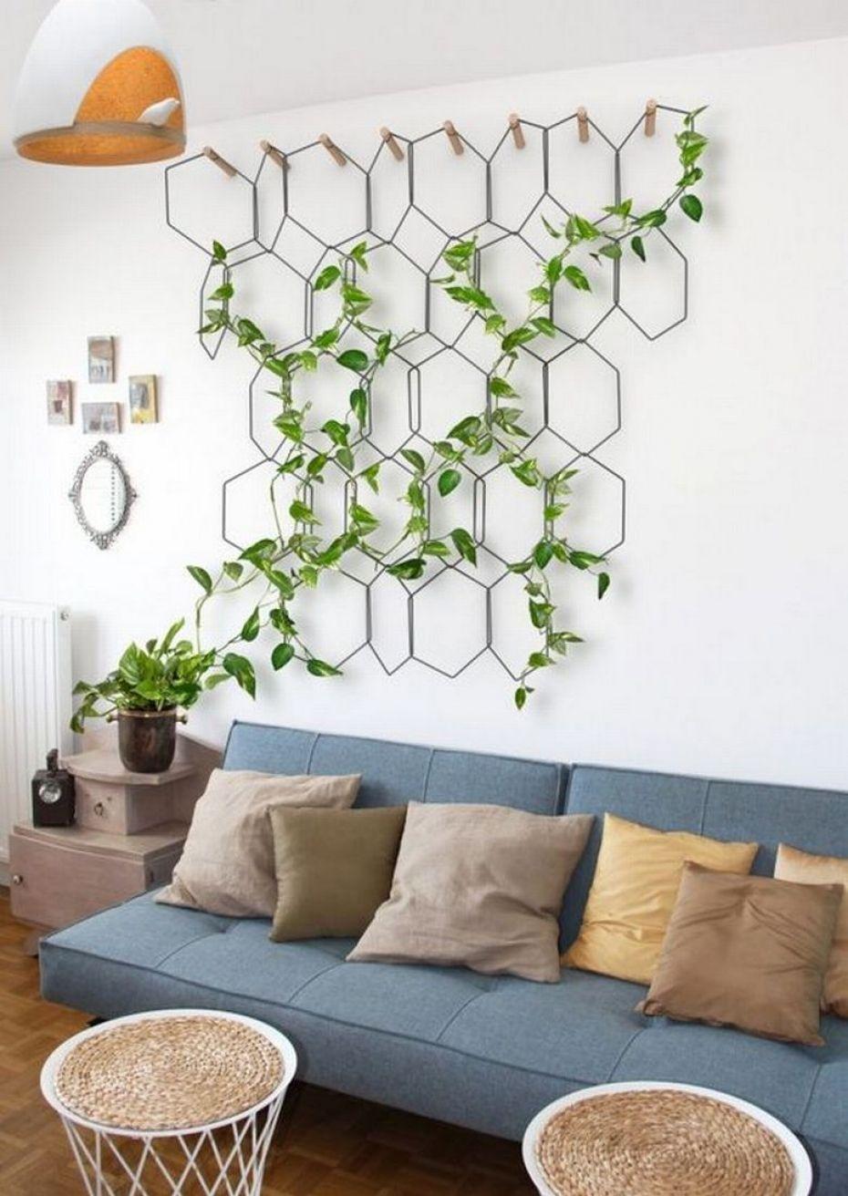 15 Decoraciones con plantas para que tu hogar sea acogedor