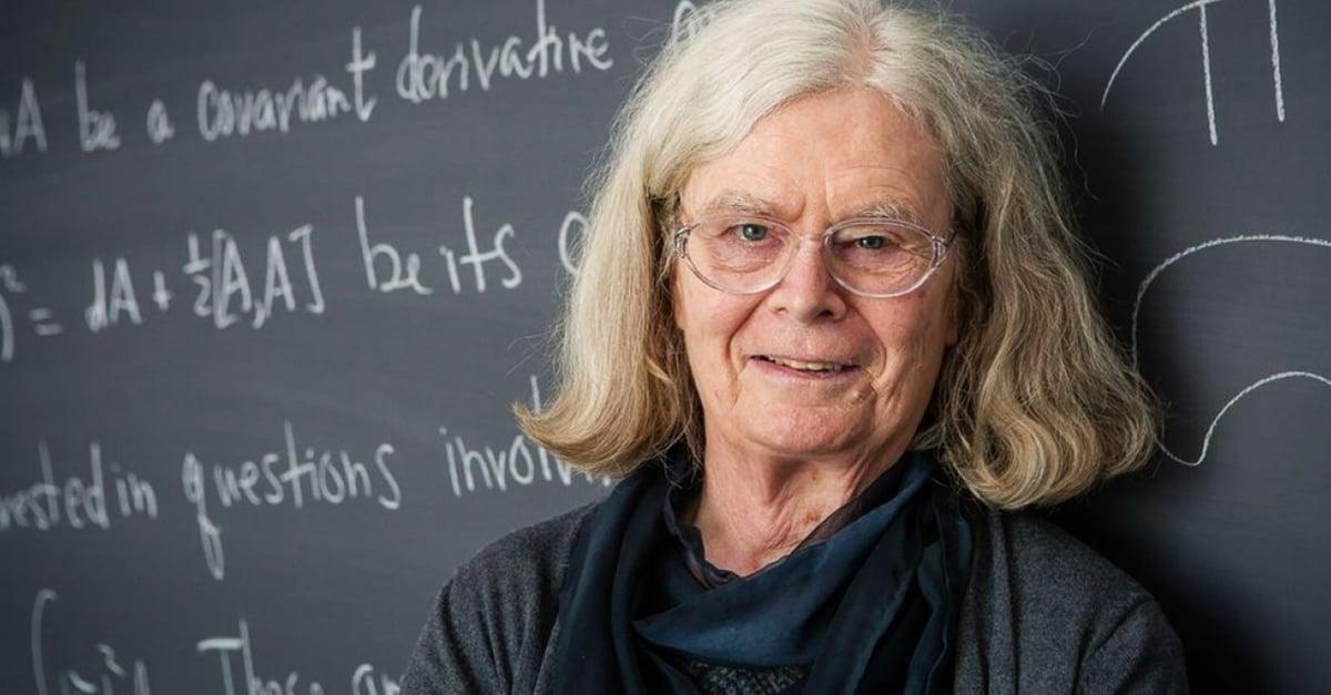 Portada mujer premio Nobel matemáticas Karen Uhlenbeck