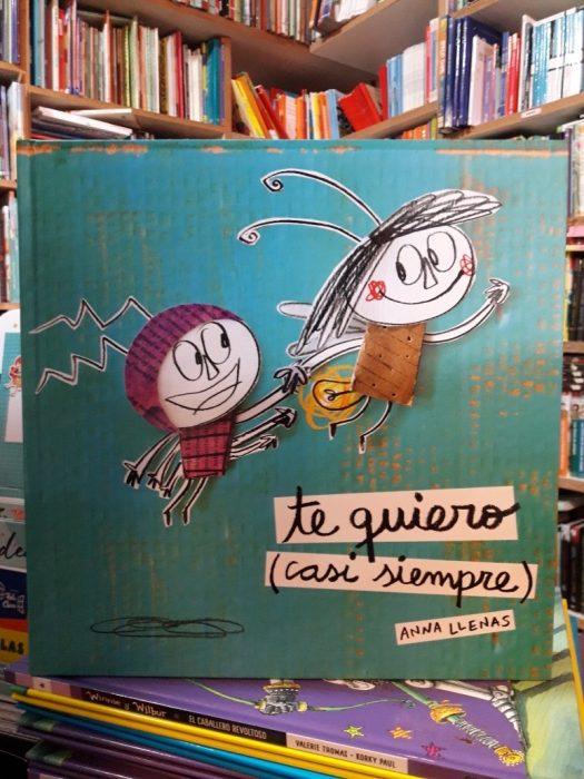 portada de cartón de libro infantil Te quiero (casi siempre)