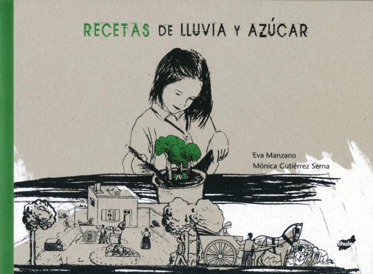 portada del libro para jóvenes Recetas de lluvia y azúcar