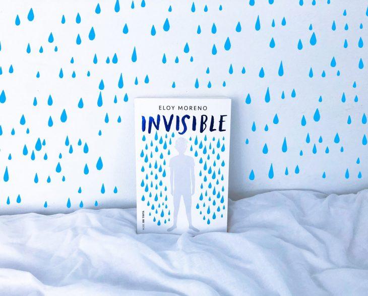 portada del libro para niños Invisible