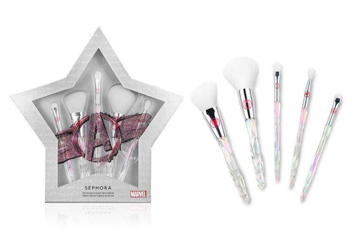 Set de brochas para maquillaje de la colección Marvel Heroes para Sephora