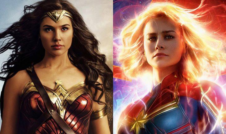 Mujer Maravilla y Capitana Marvel