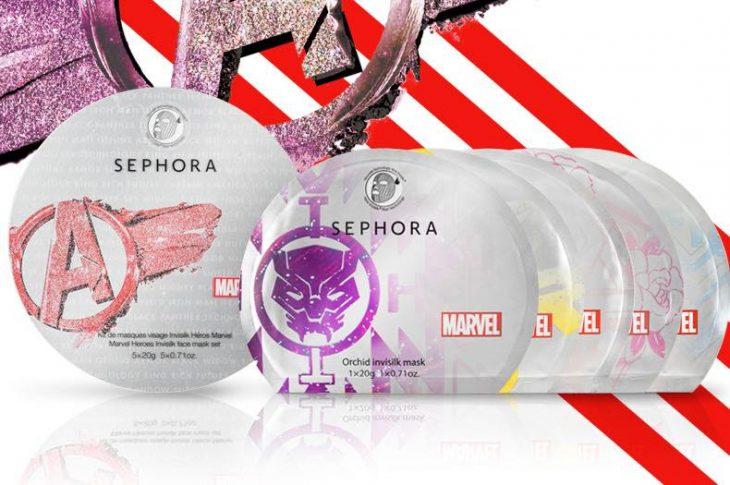 Maquillaje en polvo de la línea Marvel de Sephora